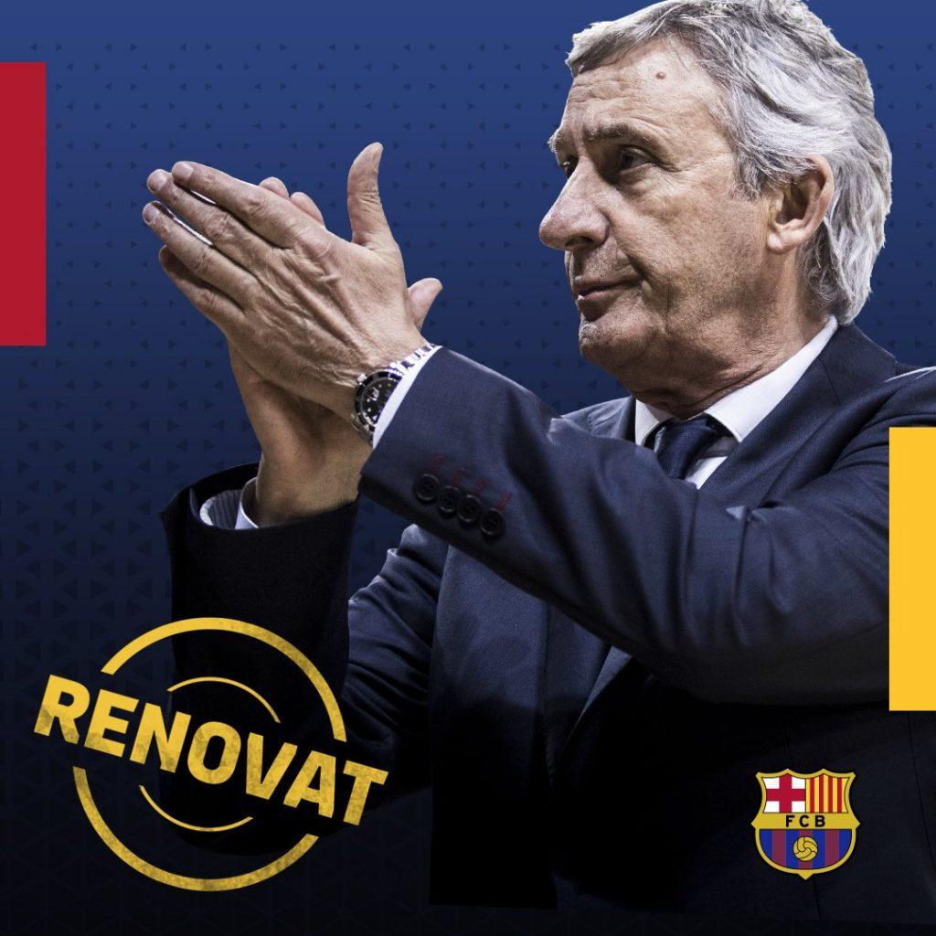 Pesic renova amb el Barça