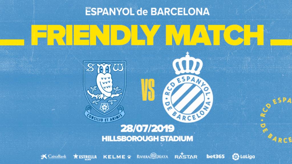L'Espanyol jugarà contra el Sheffield Wednesday