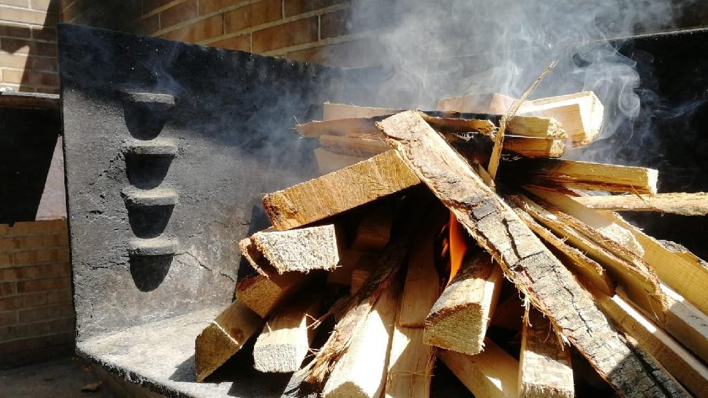 Barbacoa a Collserola encesa durant l'alerta per risc d'incendi