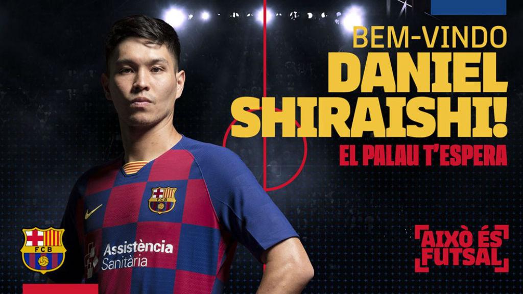 Daniel fitxa pel Barça