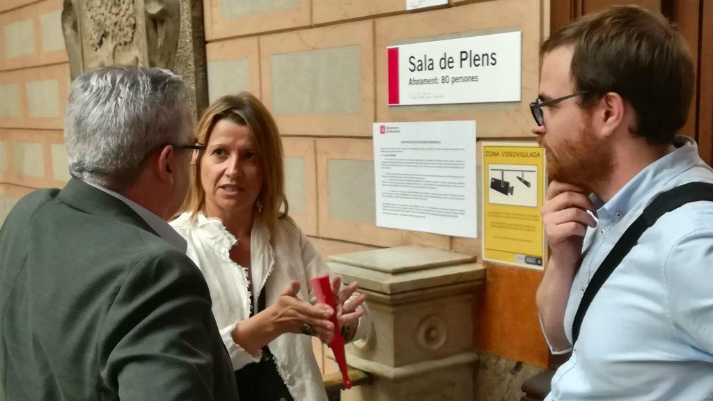 Eva Parera, de Barcelona pel Canvi