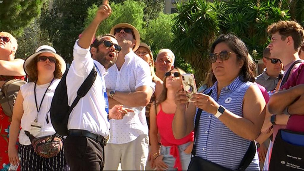 Guia turístic a Sagrada Família