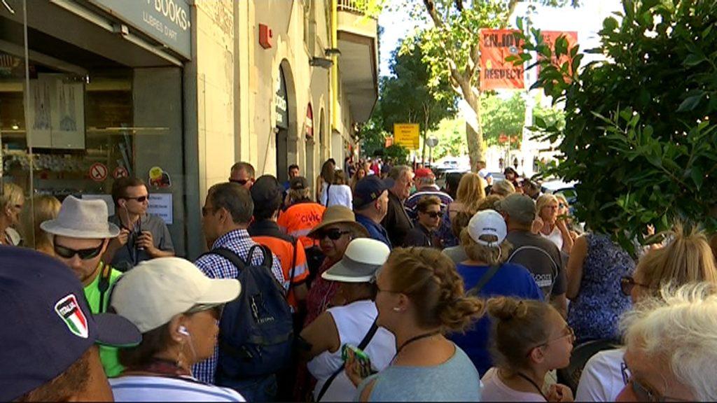 Guies turístics a Sagrada Família