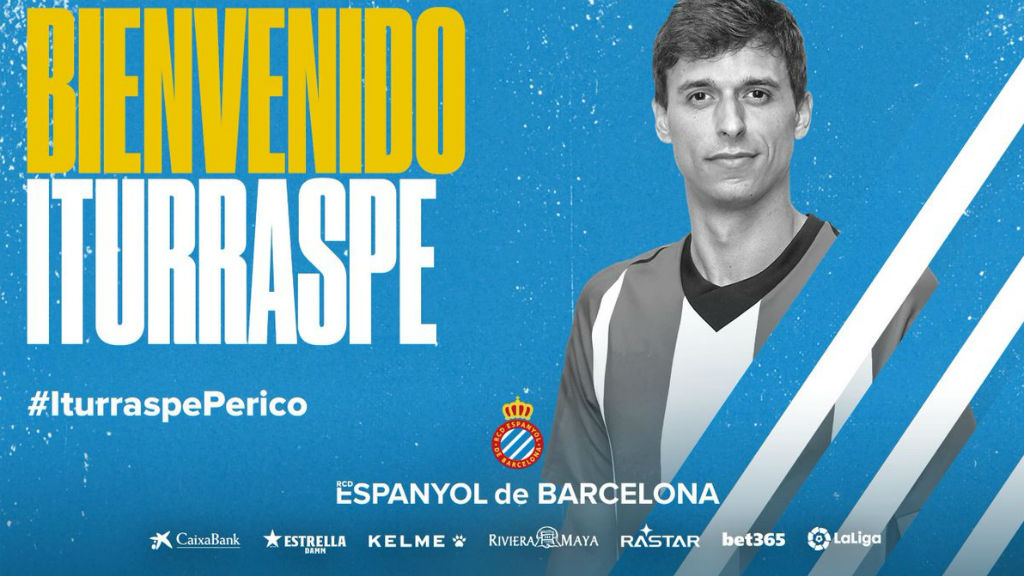 Ander Iturraspe, segon fitxatge de l'Espanyol