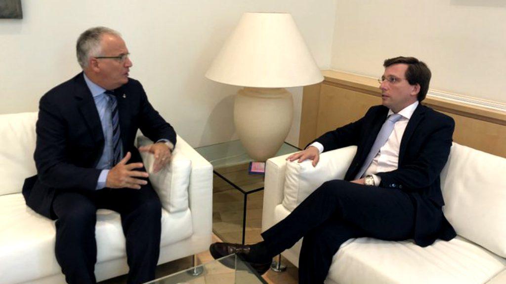 Josep Bou (PP) amb José Luís Martínez-Almeida