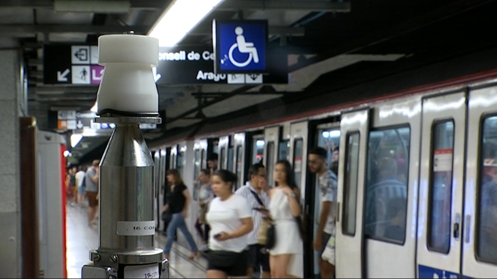 Mesuraments aire metro