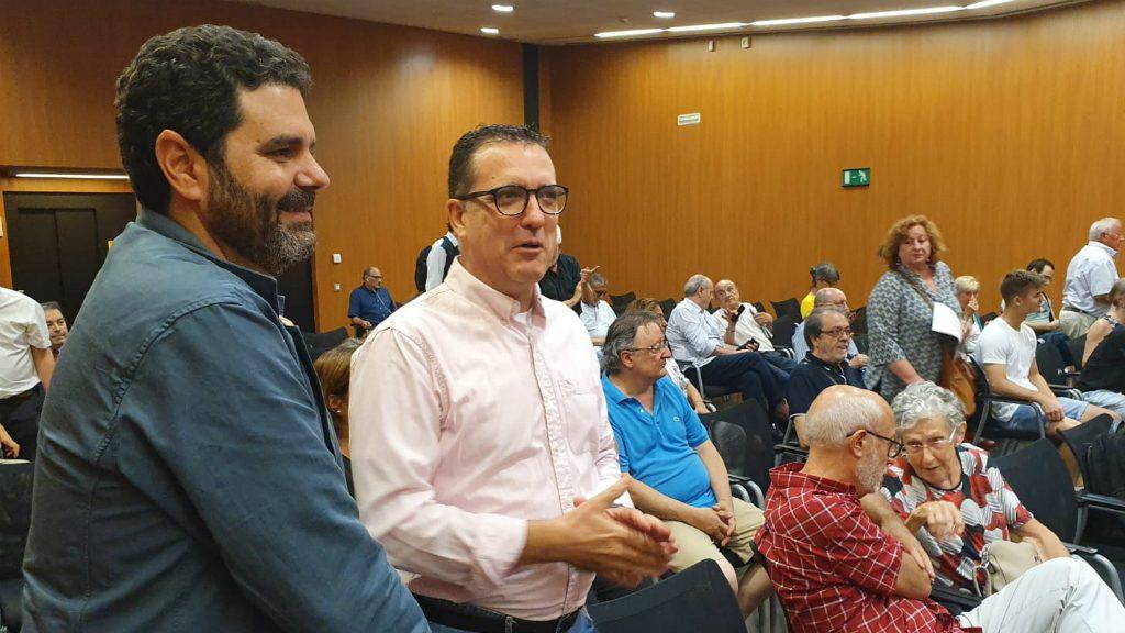 Paco Sierra, de Ciutadans, al consell plenari de les Corts