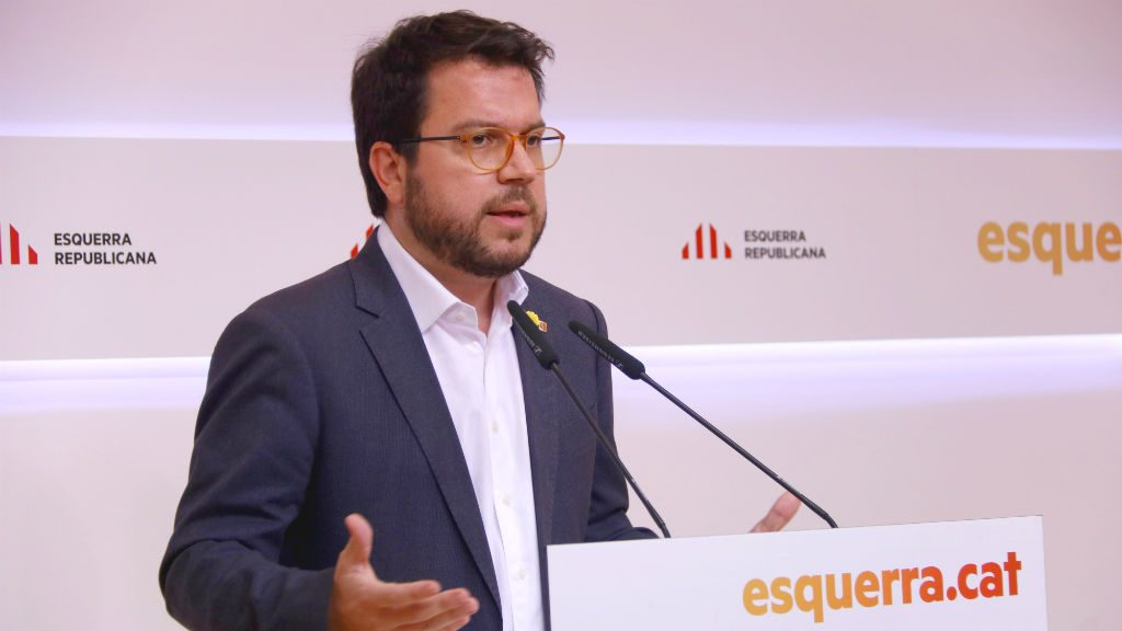 Pere Aragonès Esquerra Republicana de Catalunya