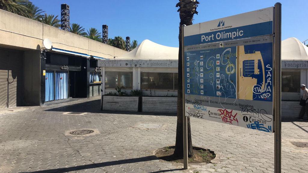 Port Olímpic cartell