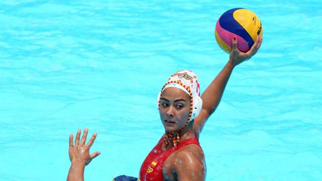 Paula Crespí, jugadora selecció espanyola waterpolo