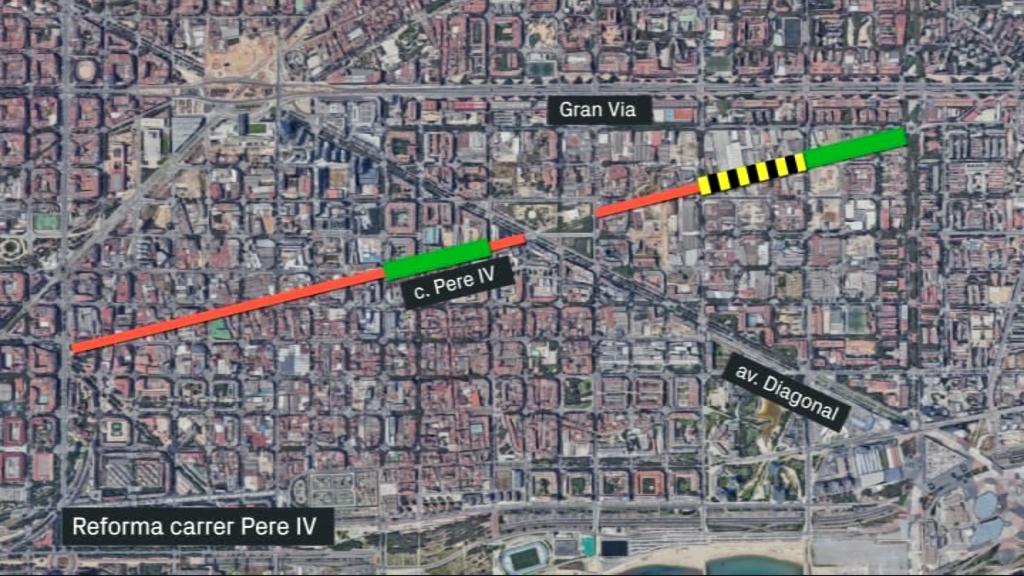 reforma carrer Pere IV