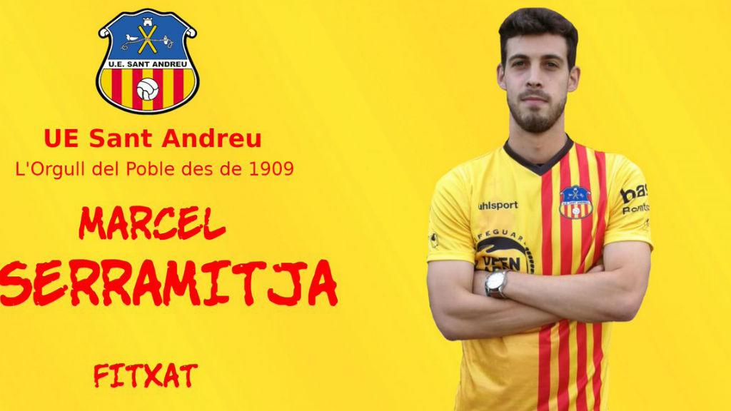Marcel Serramitja fitxa pel Sant Andreu