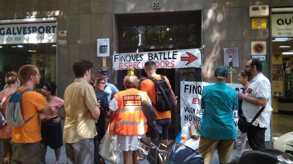 mobilització Sindicat de Llogaters