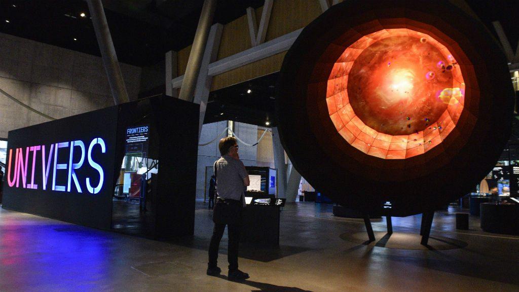 Exposició Univers CosmoCaixa