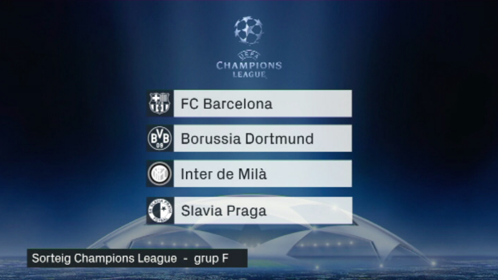 Grup F Champions League