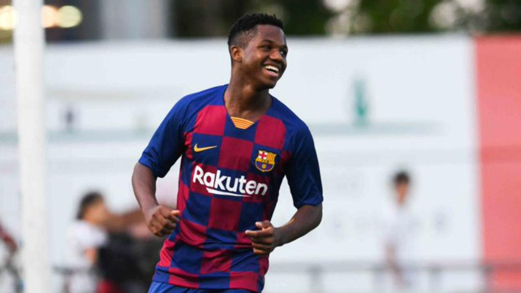 Ansu Fati pot batre dos rècords a la Champions