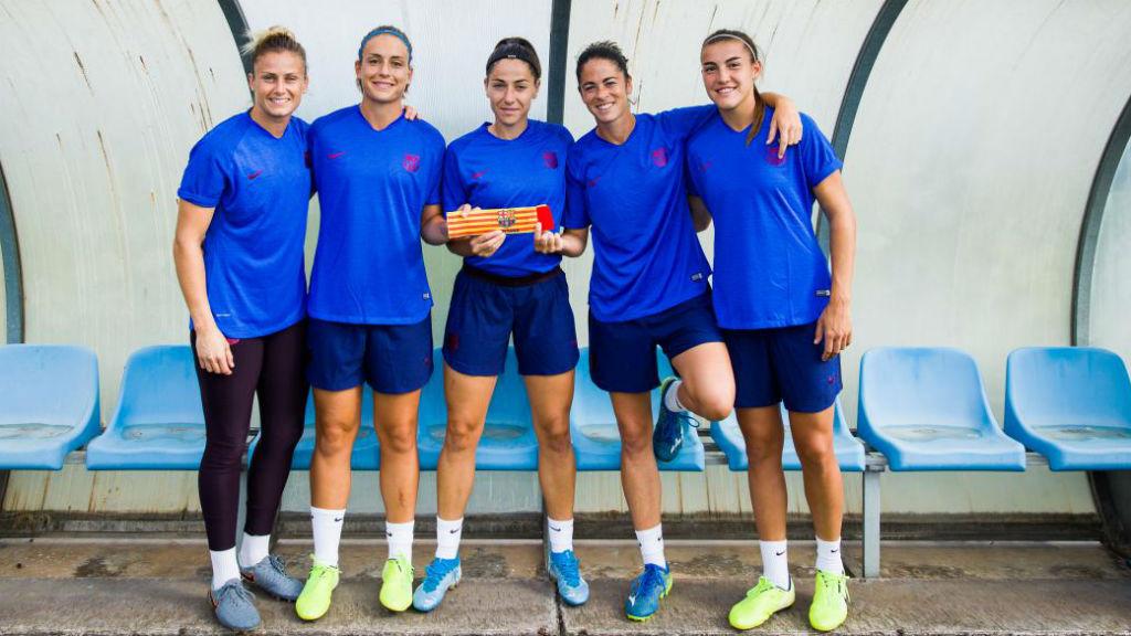 Barça capitanes 2019