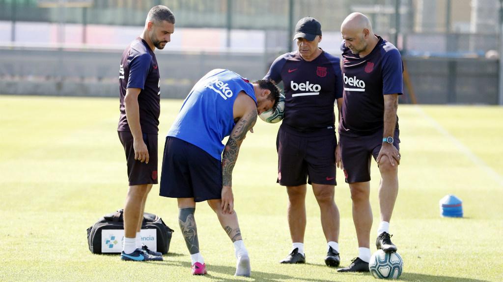 Messi no s'entrena