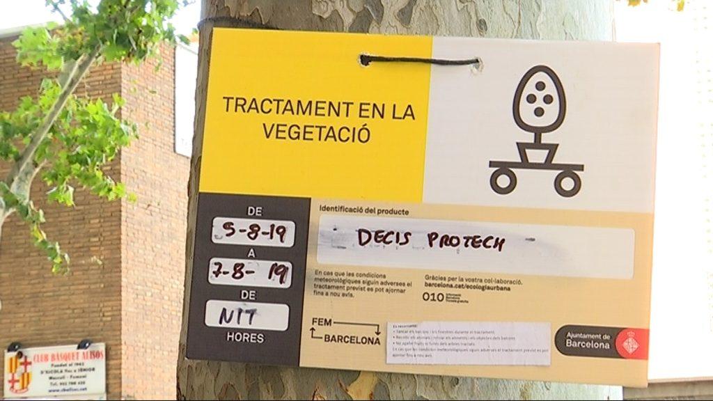 Tractament de fumigació d'insectes a Sant Martí de Provençals
