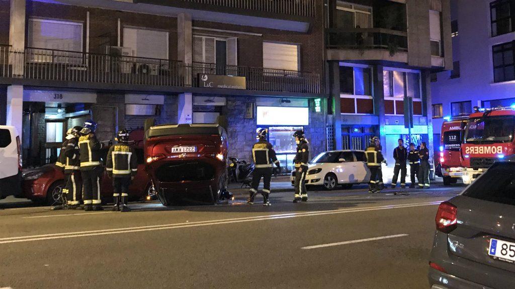 cotxe bolcat accident balmes