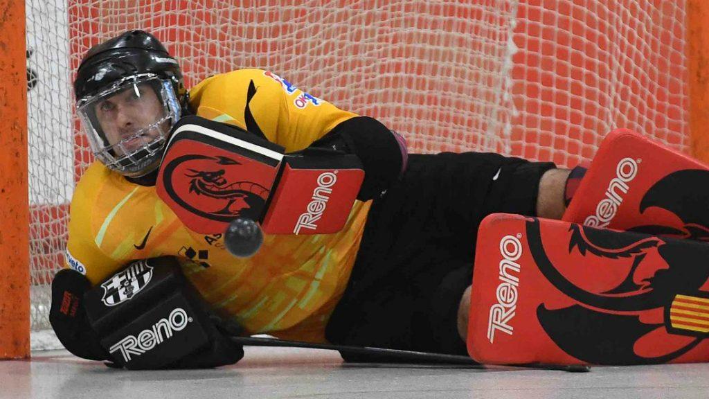 Aitor Egurrola, jugador FC Barcelona