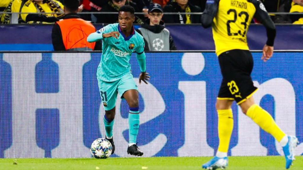 Ansu Fati, jugador FC Barcelona