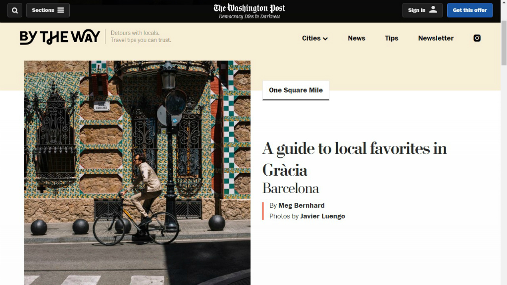 Article de The Washington Post sobre el 'botellón' a Gràcia
