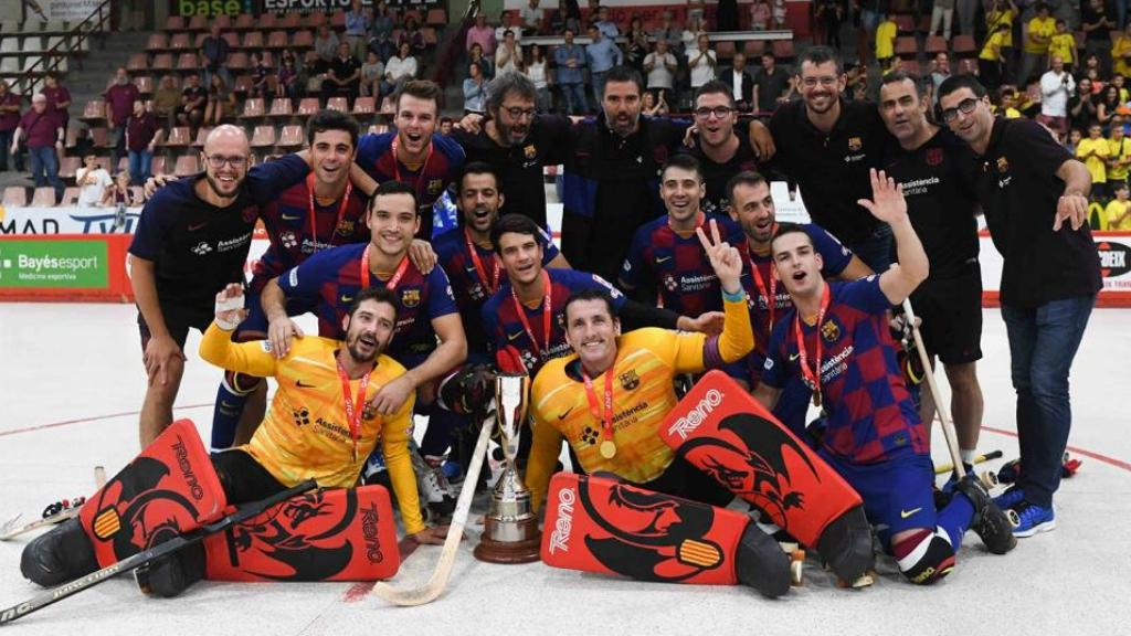 FC Barcelona Hoquei Patins, campió lliga catalana