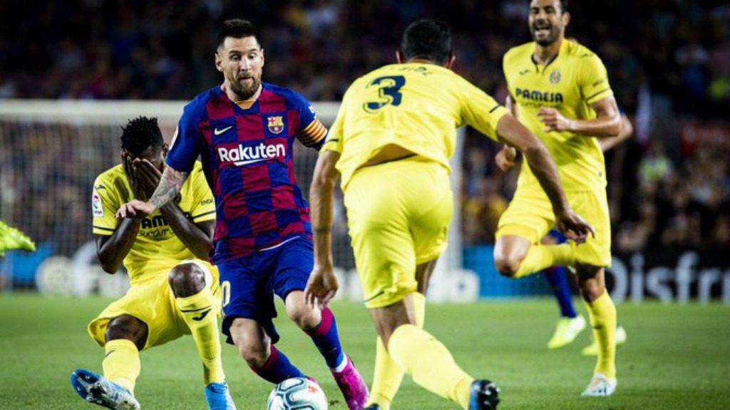 Barça Vila-real lesió elongació