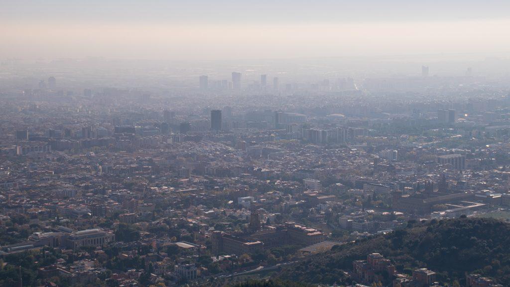 contaminació ozó