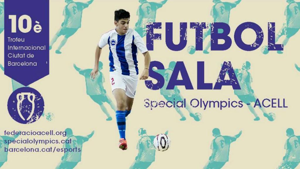 Cartell Trofeu Ciutat Barcelona Futbol Sala