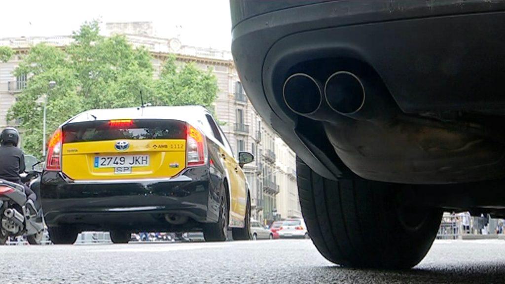 cotxes contaminació