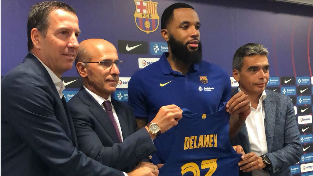 malcolm delaney fitxa Barça 2019