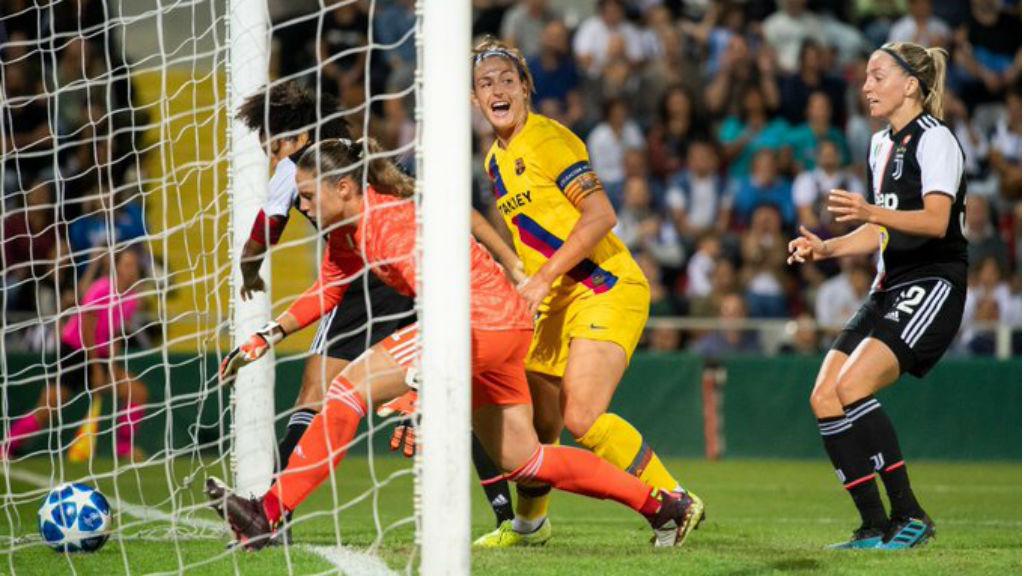 El Barça femení debuta a la Champions
