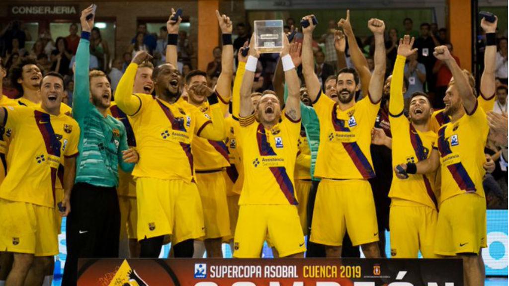 El Barça campió de la Supercopa Asobal
