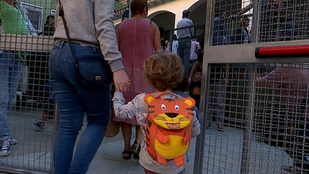 Alumne entrant a l'escola