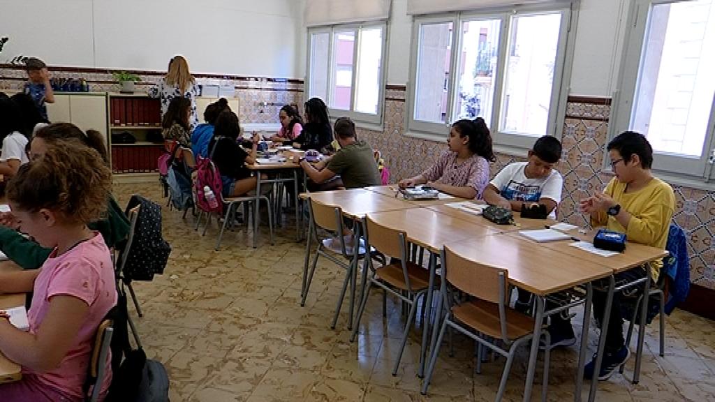 Alumnes de l'Institut Escola Arts