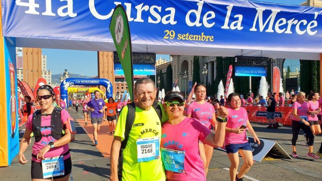 Isidre Ferrer llebre cursa Mercè 2019