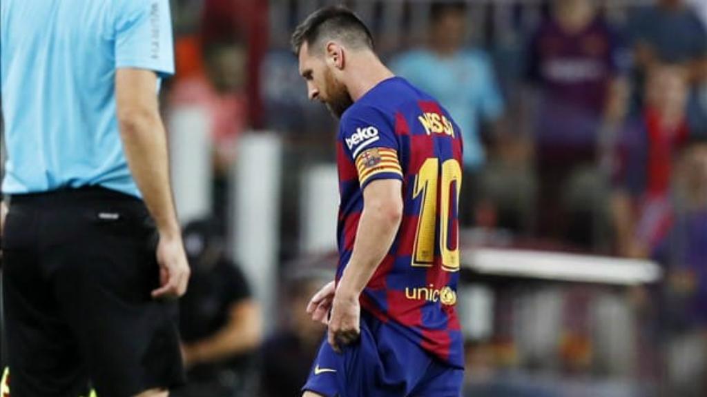 Leo Messi lesió elongació adductor