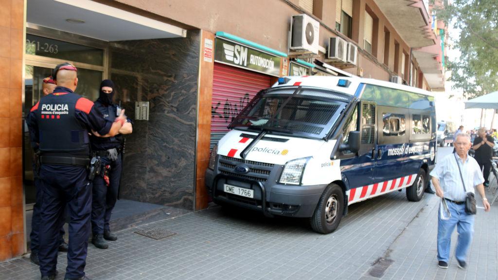 mossos detencions zona franca