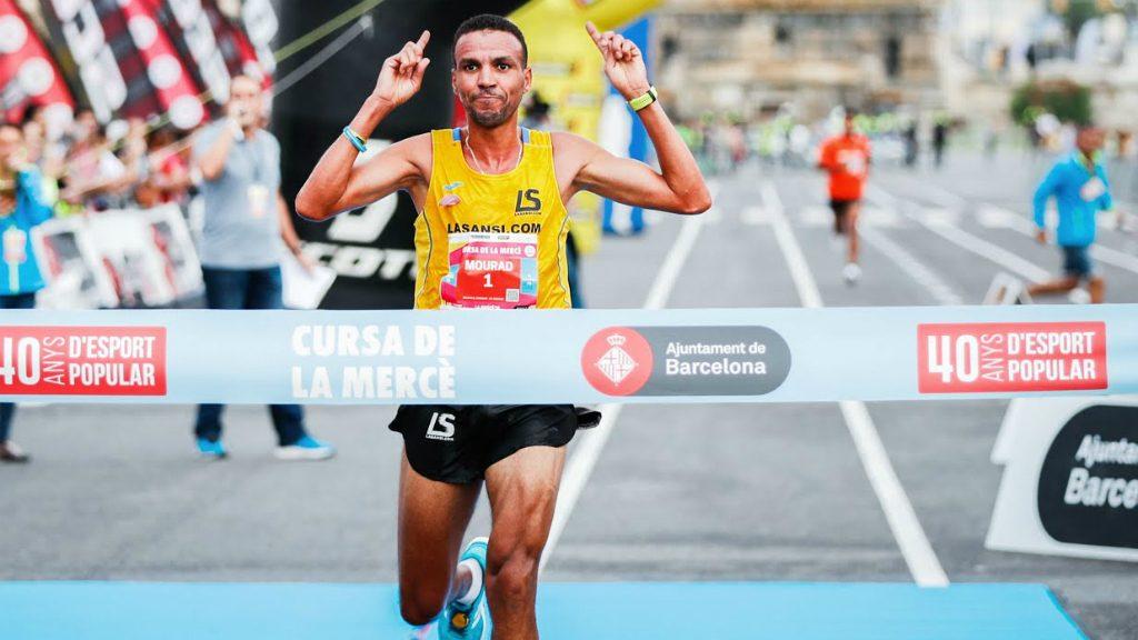 Mourad el Bannouri, guanyador cursa Mercè 2018