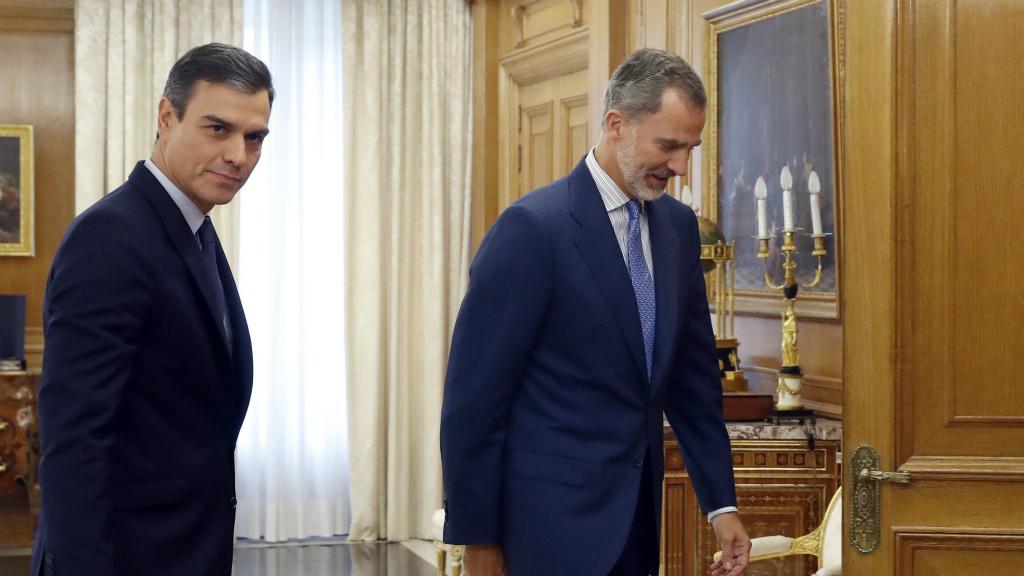 Pedro Sánchez i Felip VI