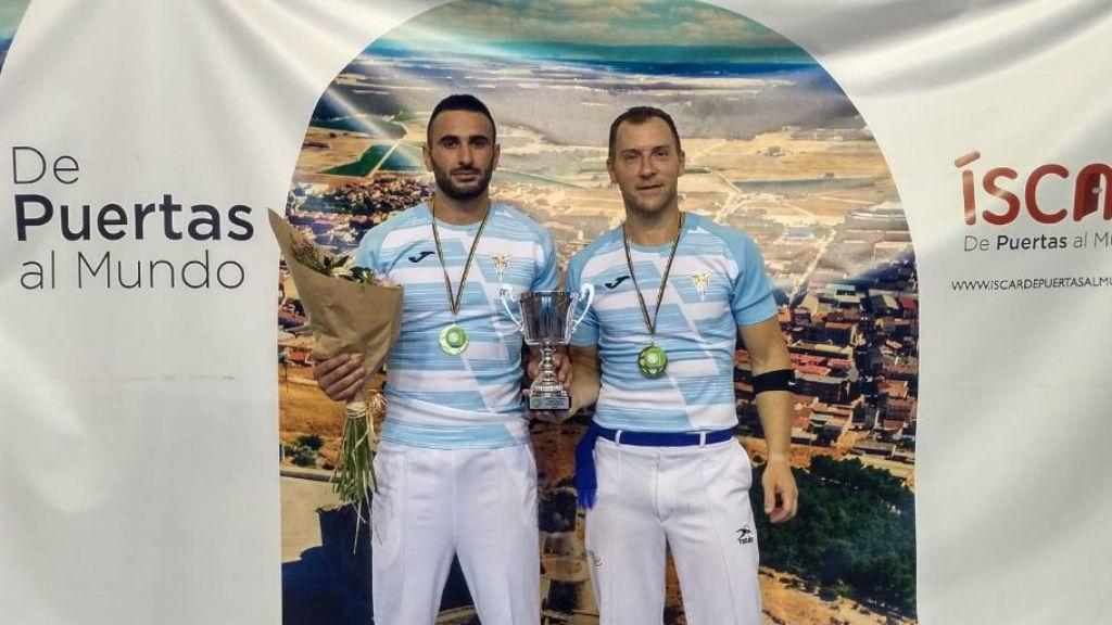 Skufca i Casteran, campions d'Europa