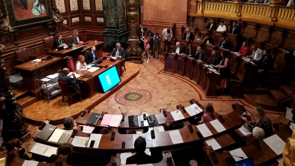ple Ajuntament Barcelona setembre 2019