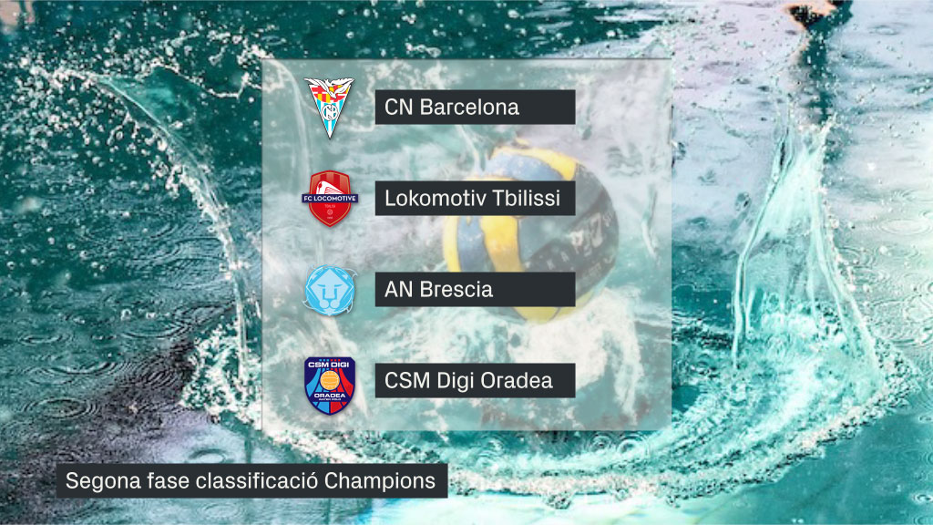 Grup C Segona ronda Champions waterpolo