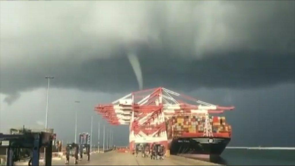 Tornado Port Barcelona