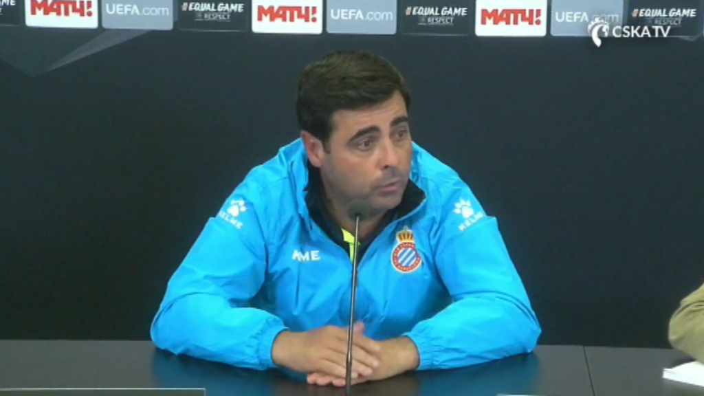 Gallego post CSKA