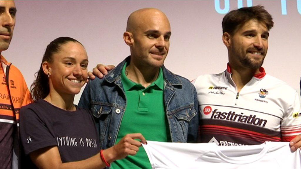 Presentació triatlo Barcelona