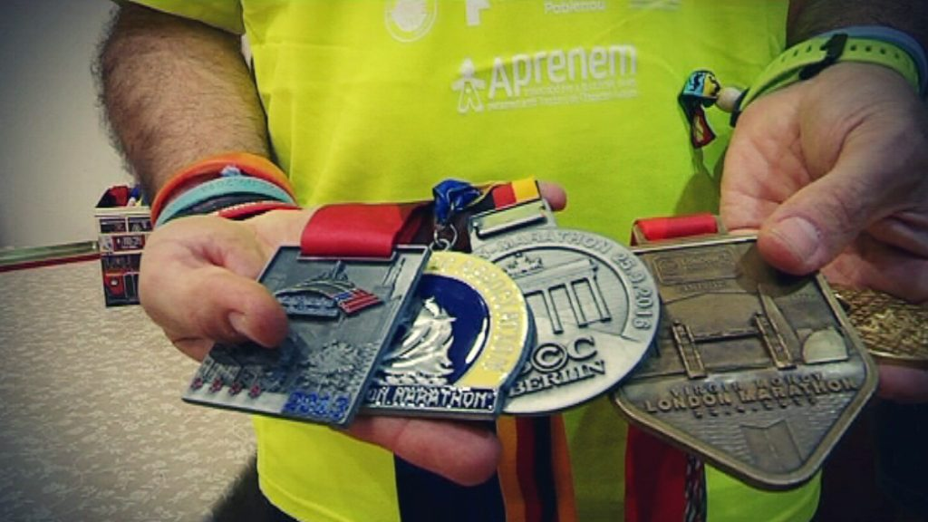 6 Majors 6 Reptes maratons autisme Albert Navarro