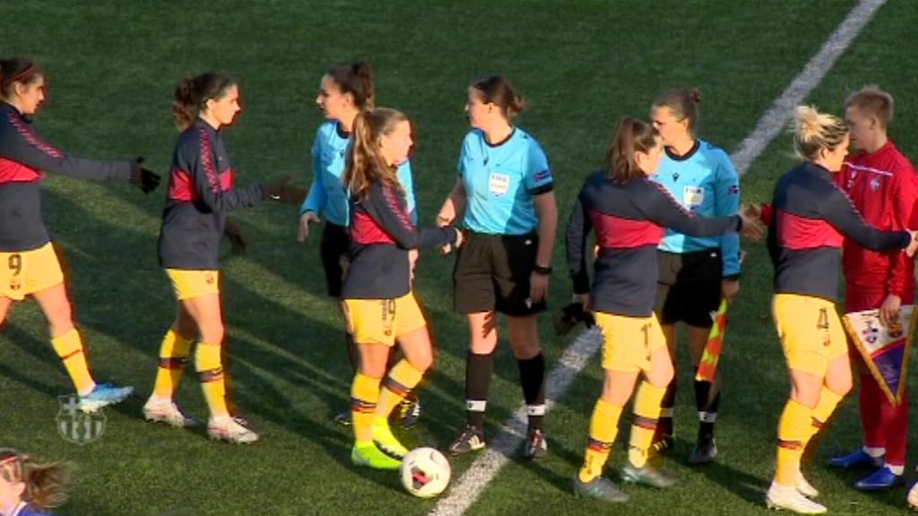 El Barça femení per cinquè any consecutiu als quarts de final de la Champions